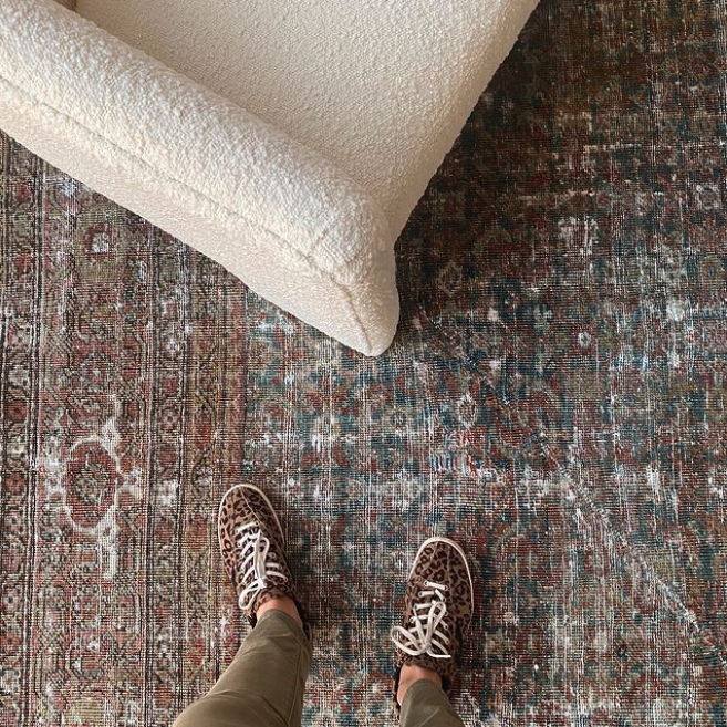 How to spot a great vintage rug