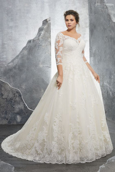 Fashion And Beautiful Cheap Lace Wedding Dresses For Girl