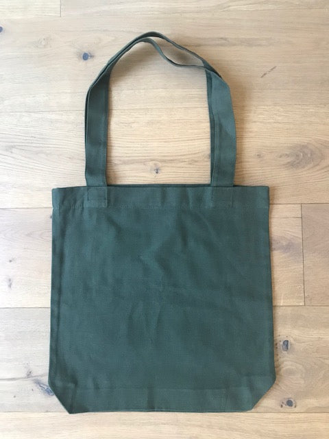 Tote Bag in Army Green