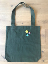 Load image into Gallery viewer, Tote Bag in Army Green
