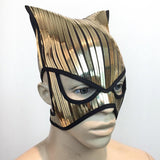baphomet catwoman fetish mask warrior headpiece armor sci fi  futuristic steampunk cyber headdress cybergoth