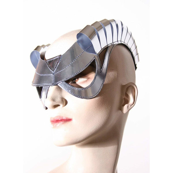 cyborg goggles with horns futuristic, sci fi, cyber eyewear, mask, goggles,baphomet mask