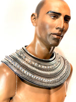 pharaoh collar, egyptian necklace, usekh, ancient egypt costume, queen of the night