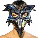 zanni mask , plague doctor mask with beak masquerade steampunk mask