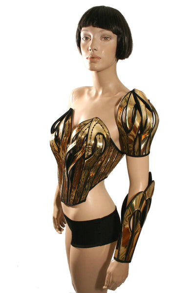 2 futuristic spartan shoulder armours custom made for men or women