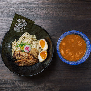 DIY SPICY UNI & CHASHU TSUKEMEN SET (Dipping Ramen)