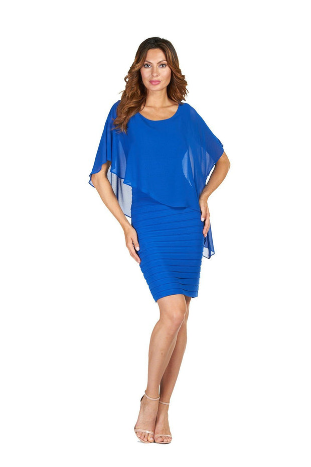 Frank lyman Royal Blue Dress Style - 51027