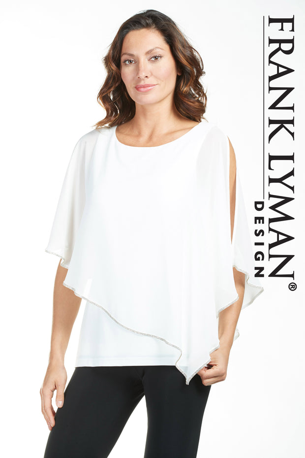 Frank Lyman Offwhite Top Style - 185420