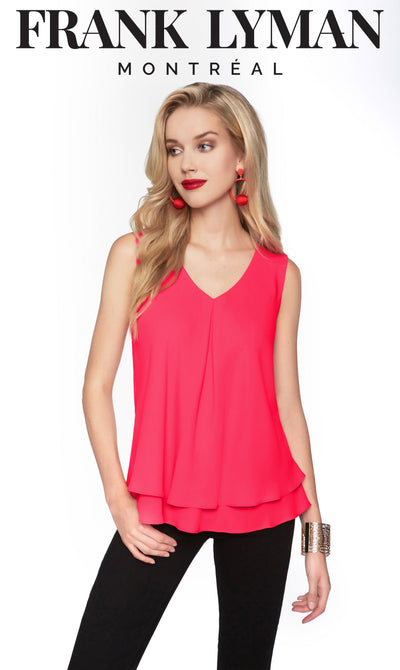 Frank Lyman Hibiscus Top Style - 61175