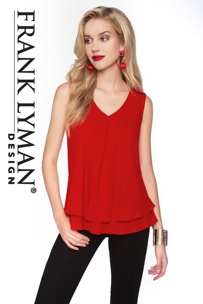 Frank Lyman Tomato Red Top Style - 61175