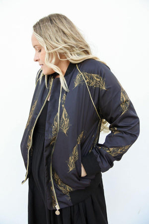 Poetry Bomber Jacket
