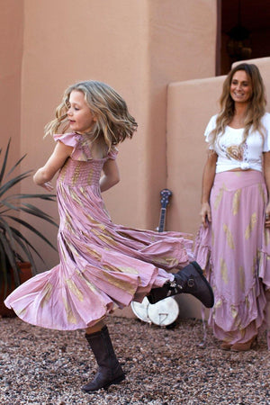 The Poet Dress - Blush Pink