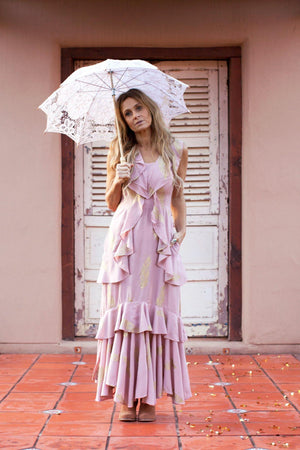 The Kasey Dress - Blush Pink