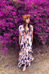 The Everleigh Dress - Jacaranda Daze