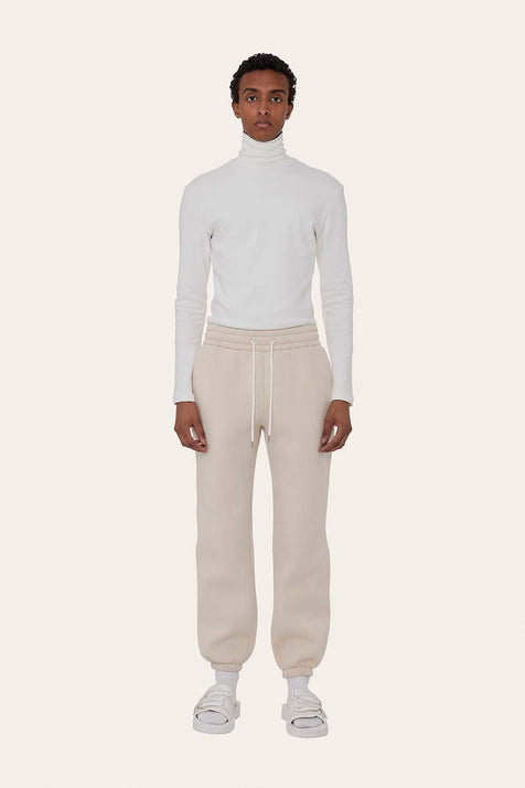 Seventh product - Airport Suit Joggers in Milk White
