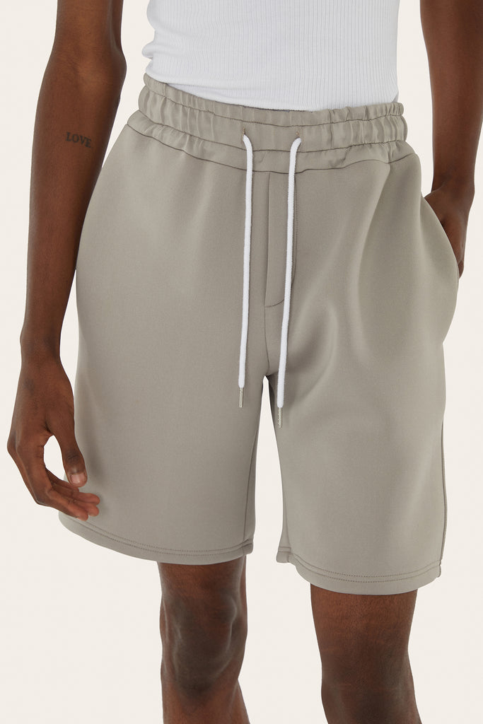 Boxy Shorts in Sage