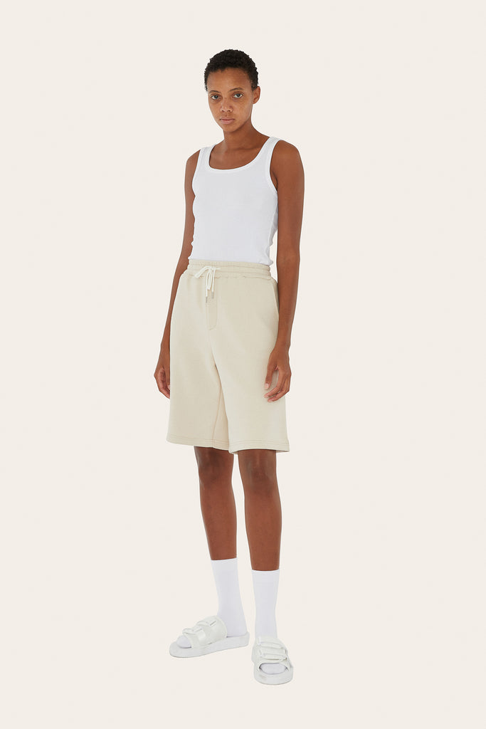Sweat Shorts in Butter