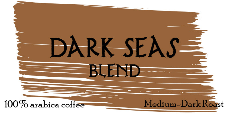 1LB Dark Seas Blend - WHOLESALE
