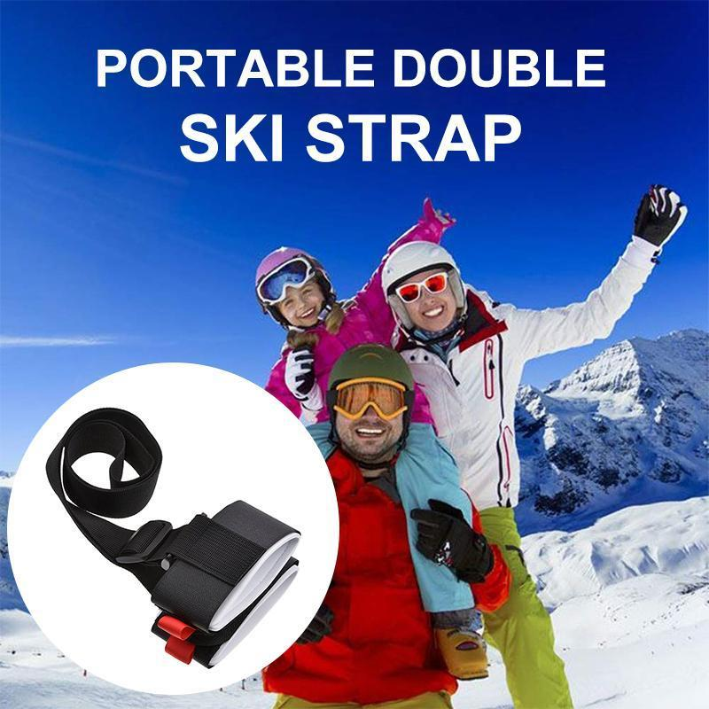 Adjustable Shoulder Ski Carrier Straps