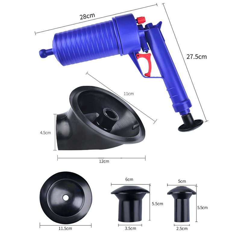Air Powered Drain Gun