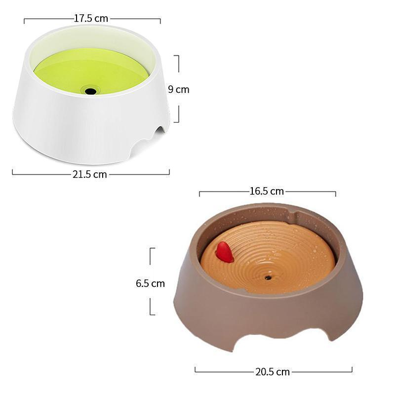 MVSTU™ Floating Pet Bowl Splash Proof Drinking Bowl