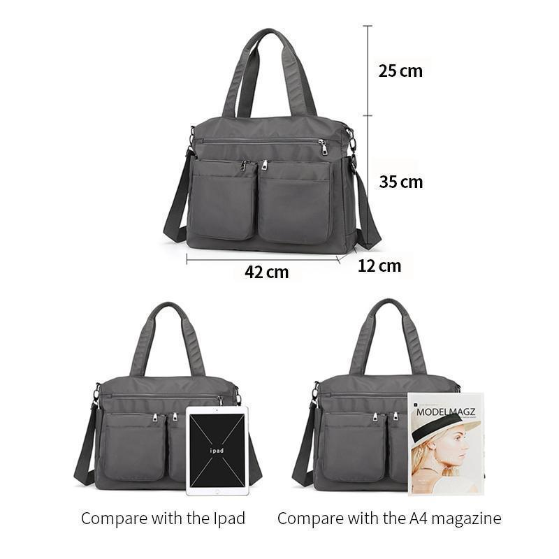 haloera™ Waterproof Large Capacity Handbag Crossbody Bag