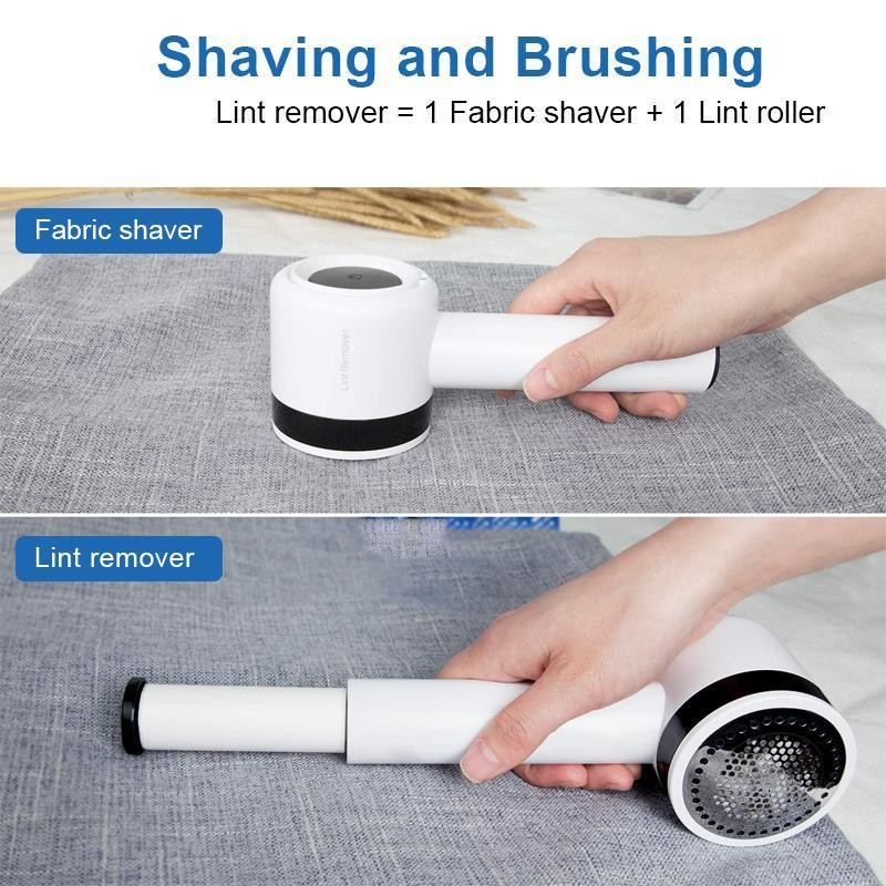 2-in-1 Rechargeable Lint Remover