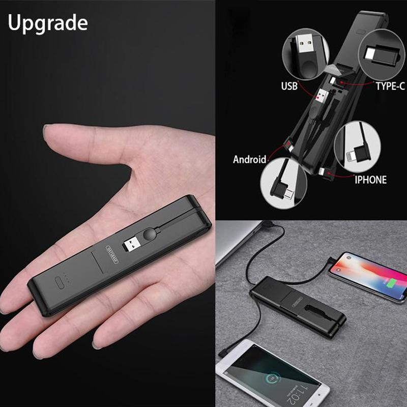 3-in-1 Multifunctional Portable Compact Charging Gadget
