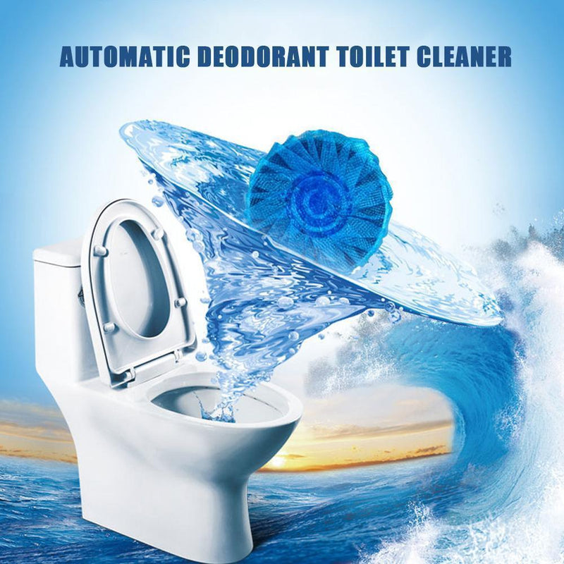 Automatic Deodorant Toilet Cleaner (6 PCS)