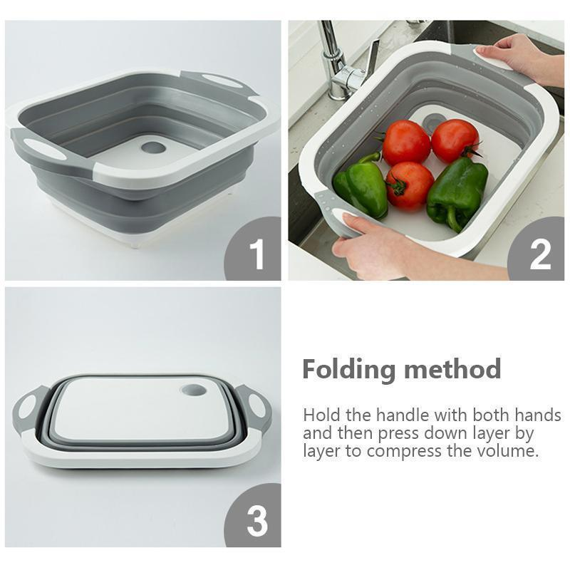 Hirundo Portable Multi-function Collapsible Dish Tub