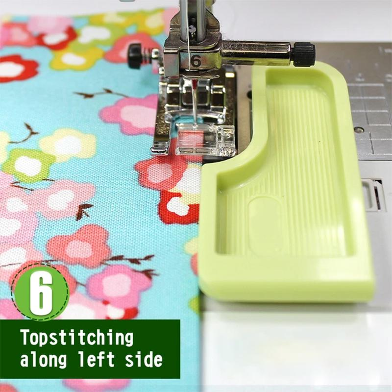 Sewing machine stitch guide