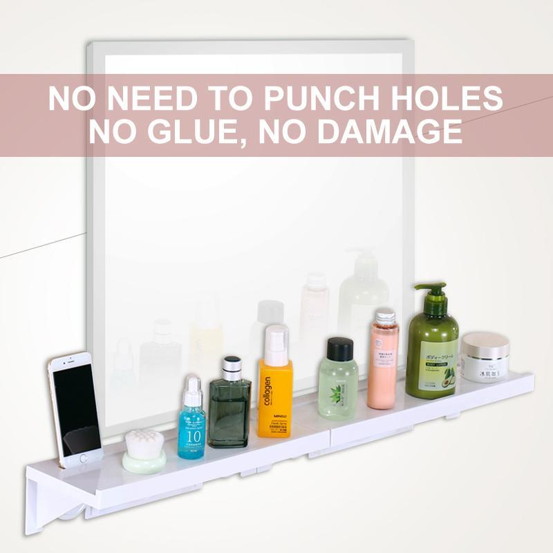 Suction Cup Bathroom Shelving Organizer
