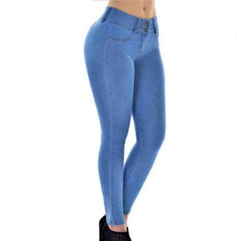 haloera™ High Waist Stretch Denim Pants