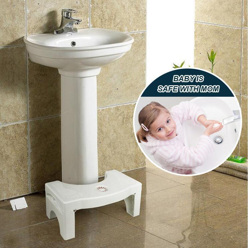 haloera™ Folding Multi-Function Toilet Stool