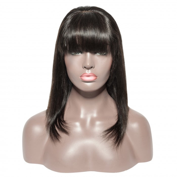 13 x 6 Lace Frontal Bob Wig with Bang
