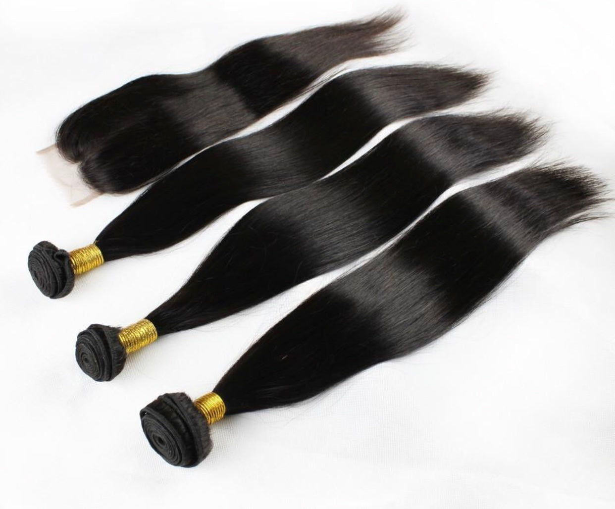 3 Bundle Deal With Lace Closure