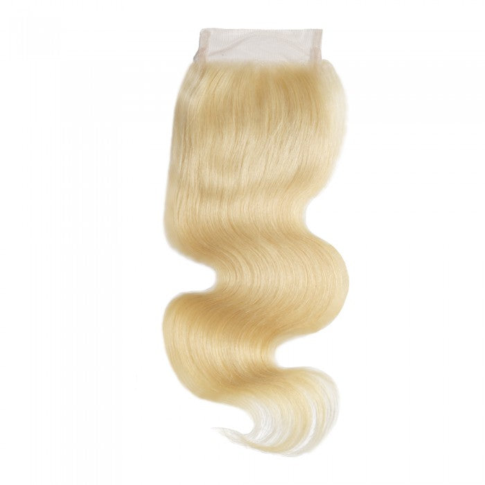 Russian Blonde 4 x4  Lace Closure