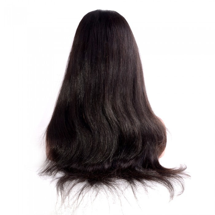 Undetectable Transparent Full Lace Wig 150% Density Straight