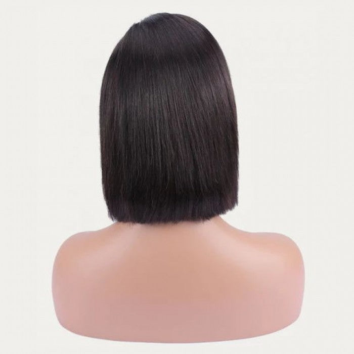 HD Undetectable Transparent Straight Lace Front Wig