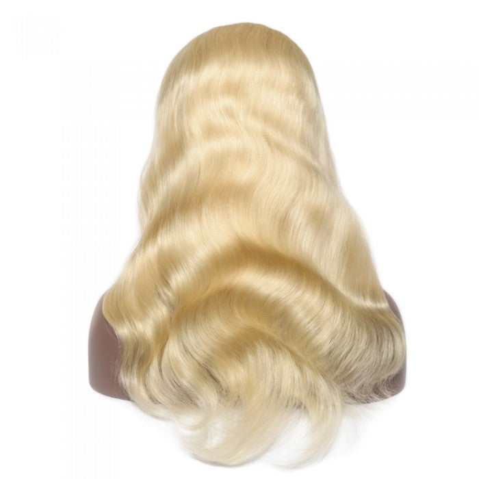 Pre-Plucked 13x6 Russian Blonde Body Wave Frontal Lace Wig