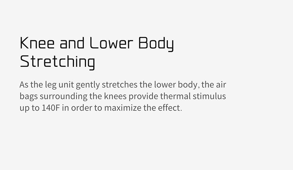Knee And Lower Body Stretching