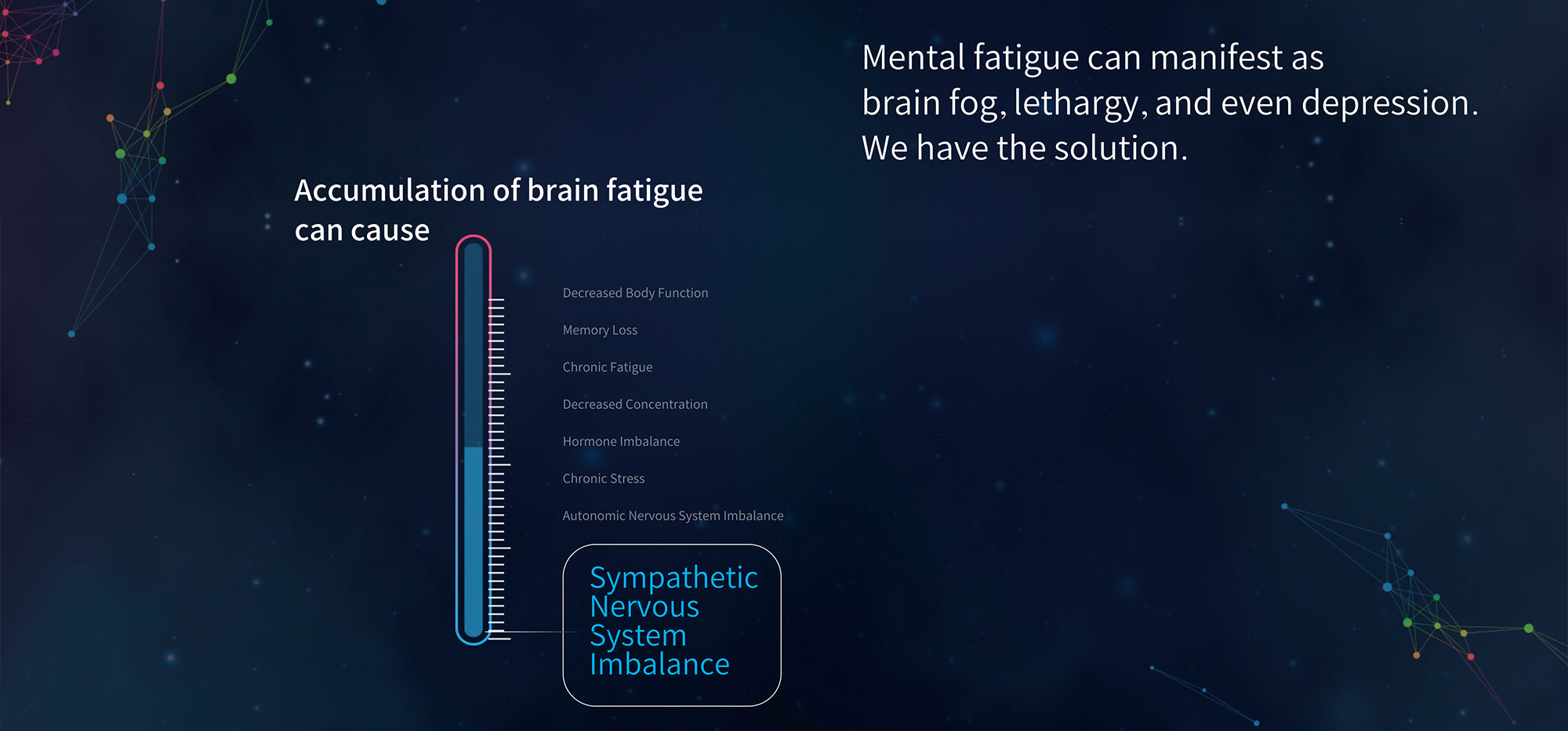 We Have Solution To Mental Fatigue, That Can Manifest As Brain Fog, Lethargy, And Even Depression