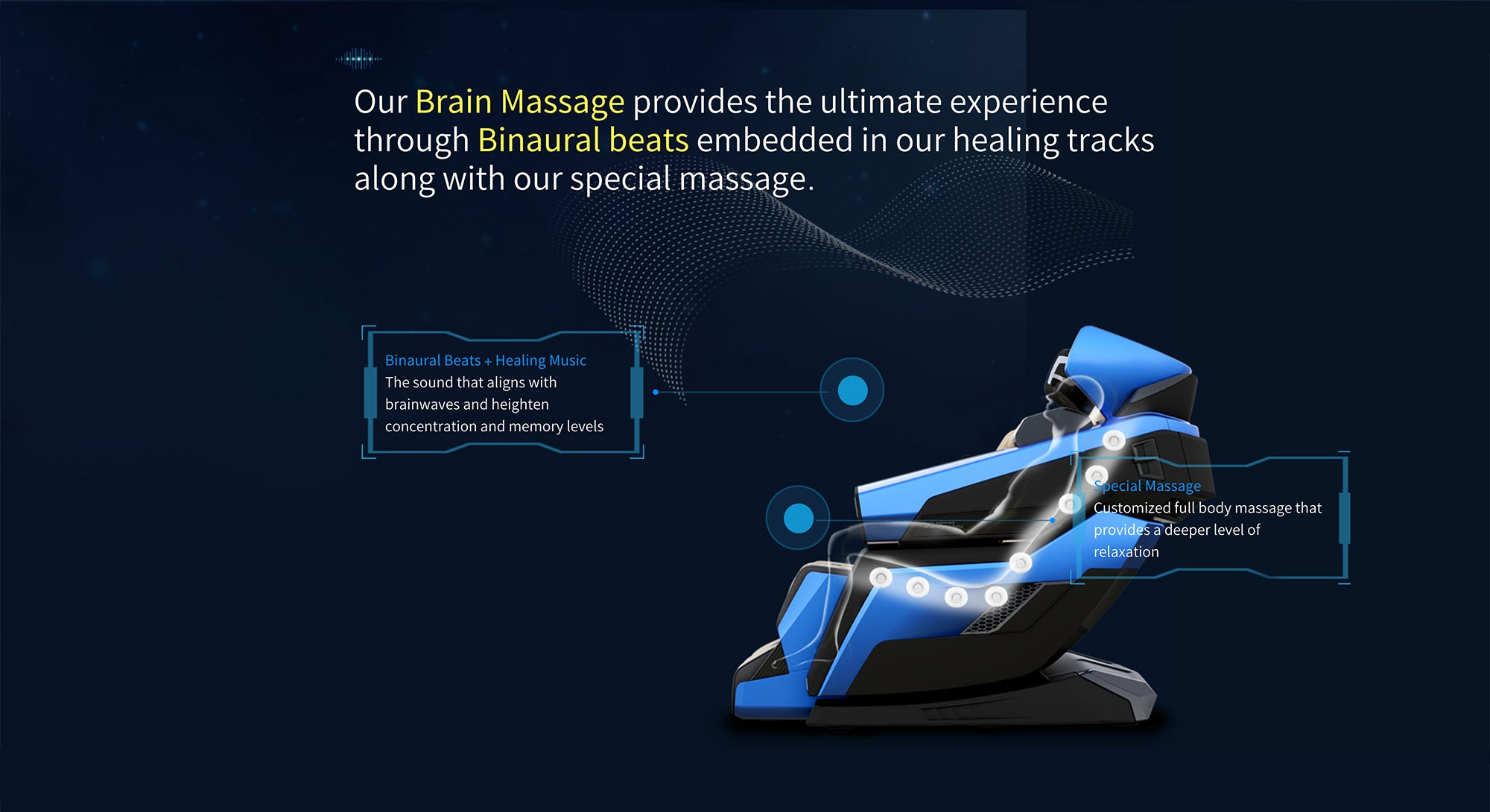 Our Brain Massage Provides The Ultimate Experience Through Binaural Beats