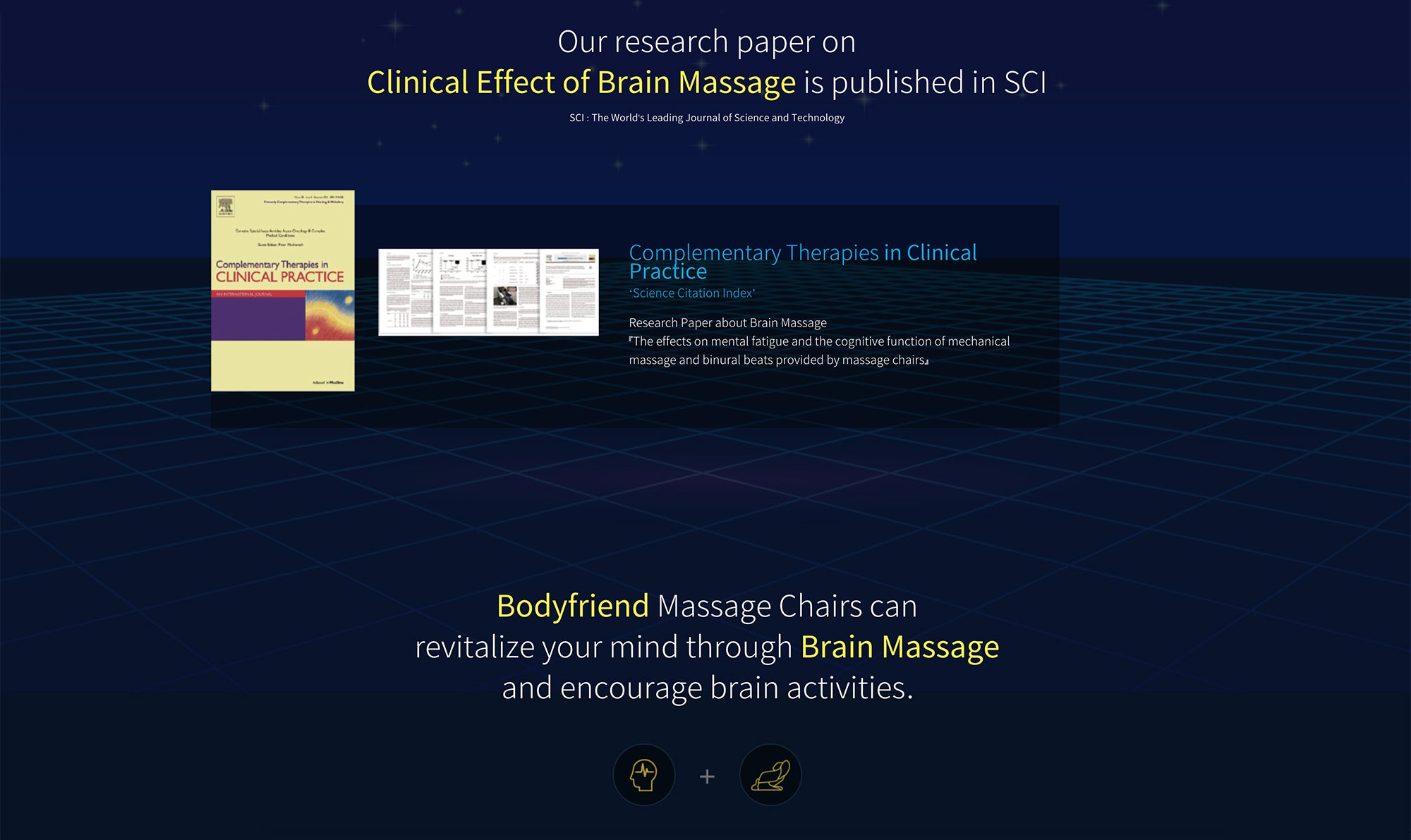 Our Research Paper on Clinical Effect Of Brain Massage Is Published In SCI