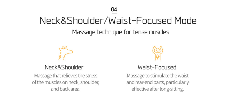 Massage technique for tense muscles