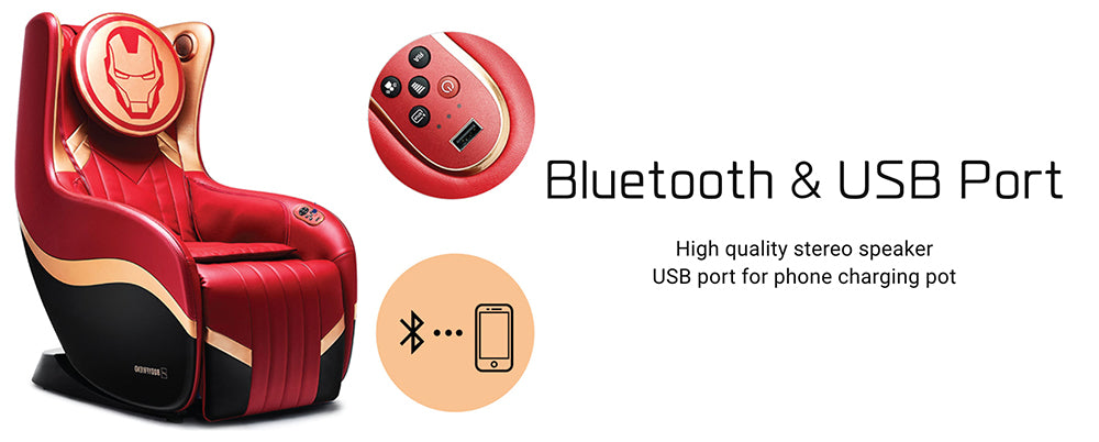 Bluetooth And USB Port