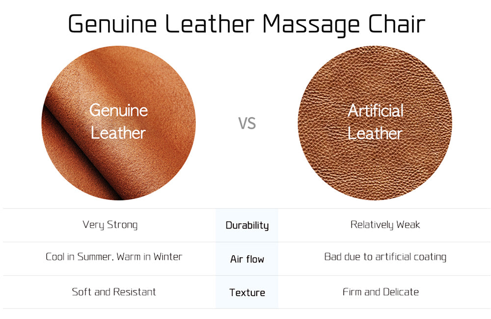 Genuine Leather Massage Chair