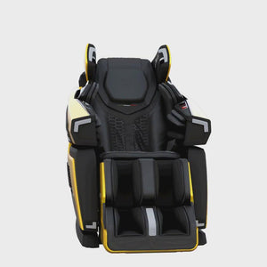 LBF-750 massage chair yellow color 360° view