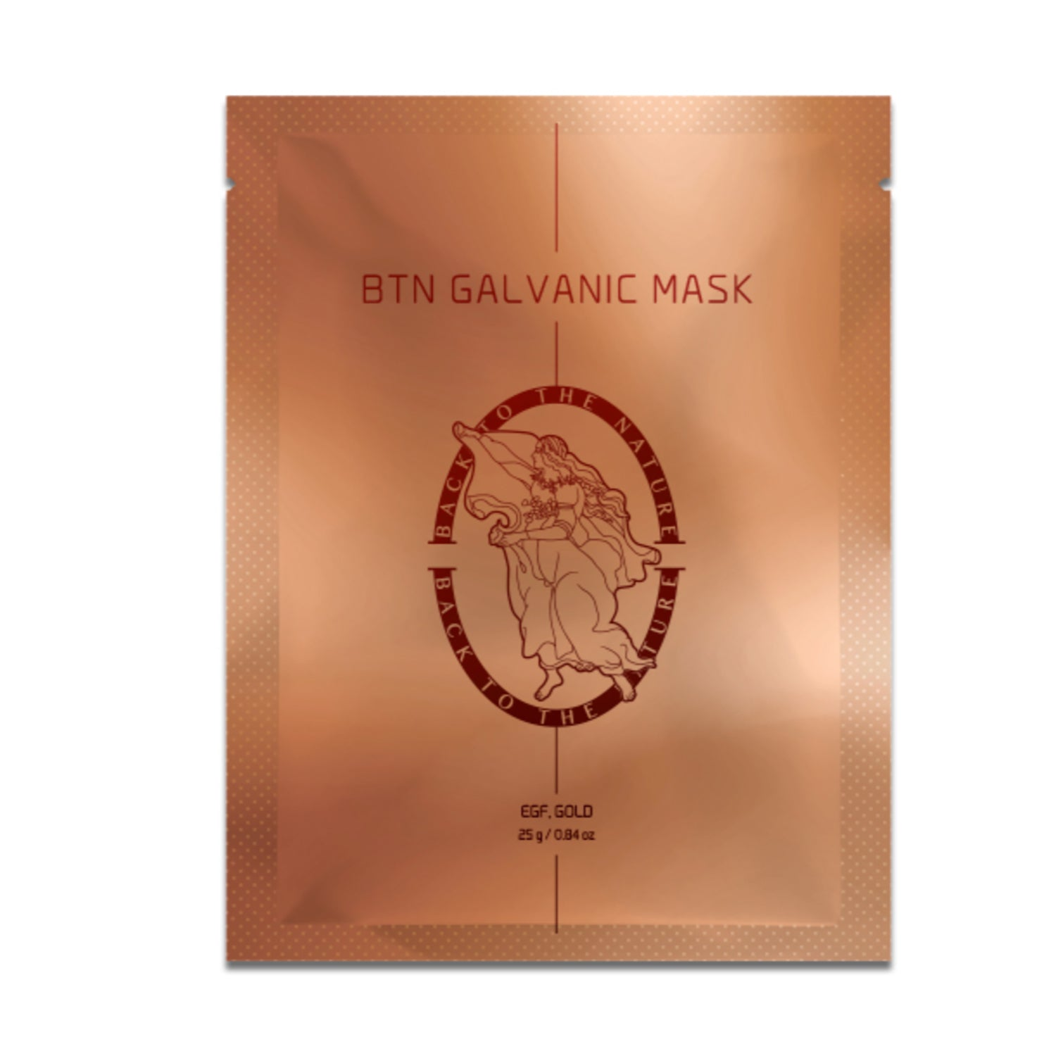Back to the nature galvanic mask