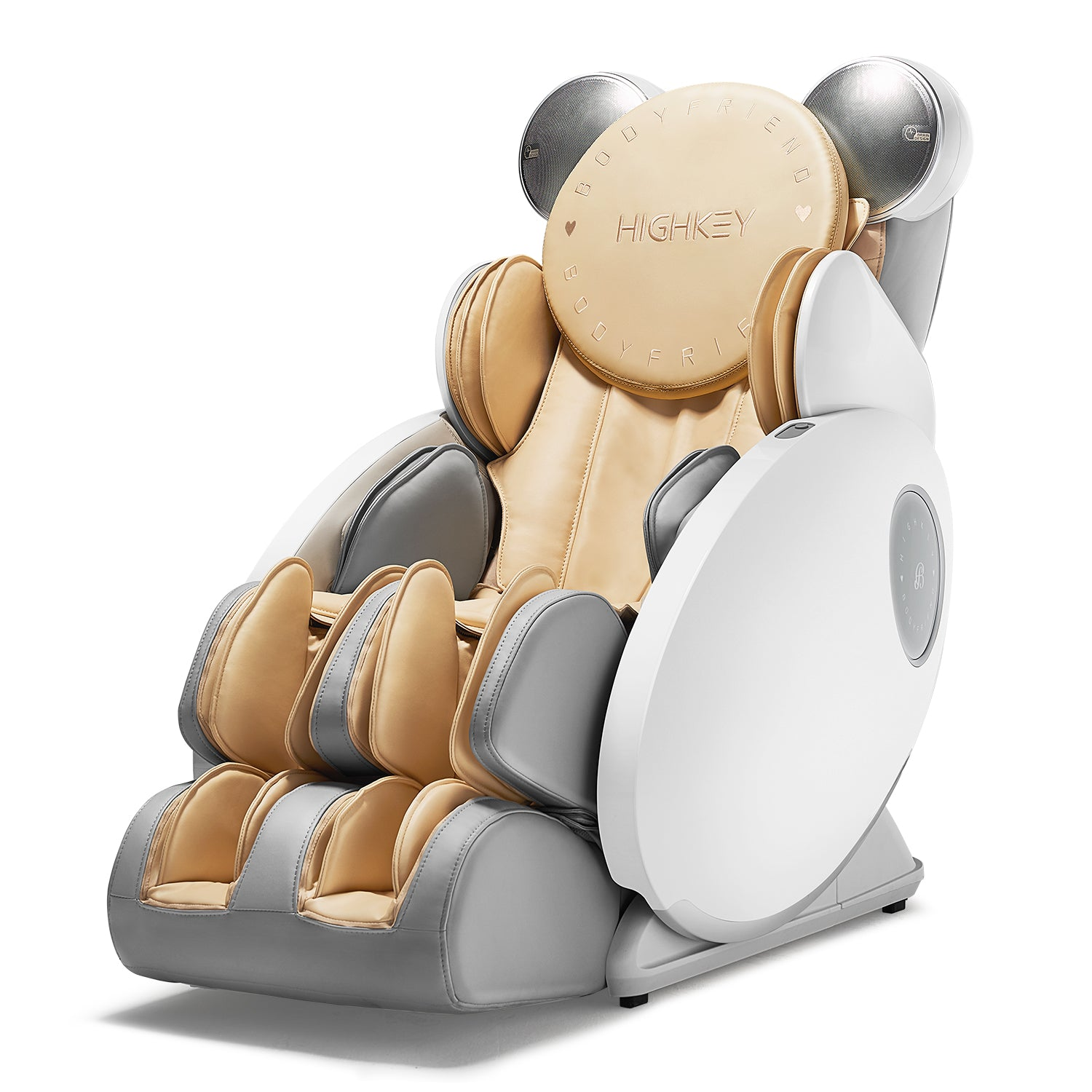 Highkey massage chair white color